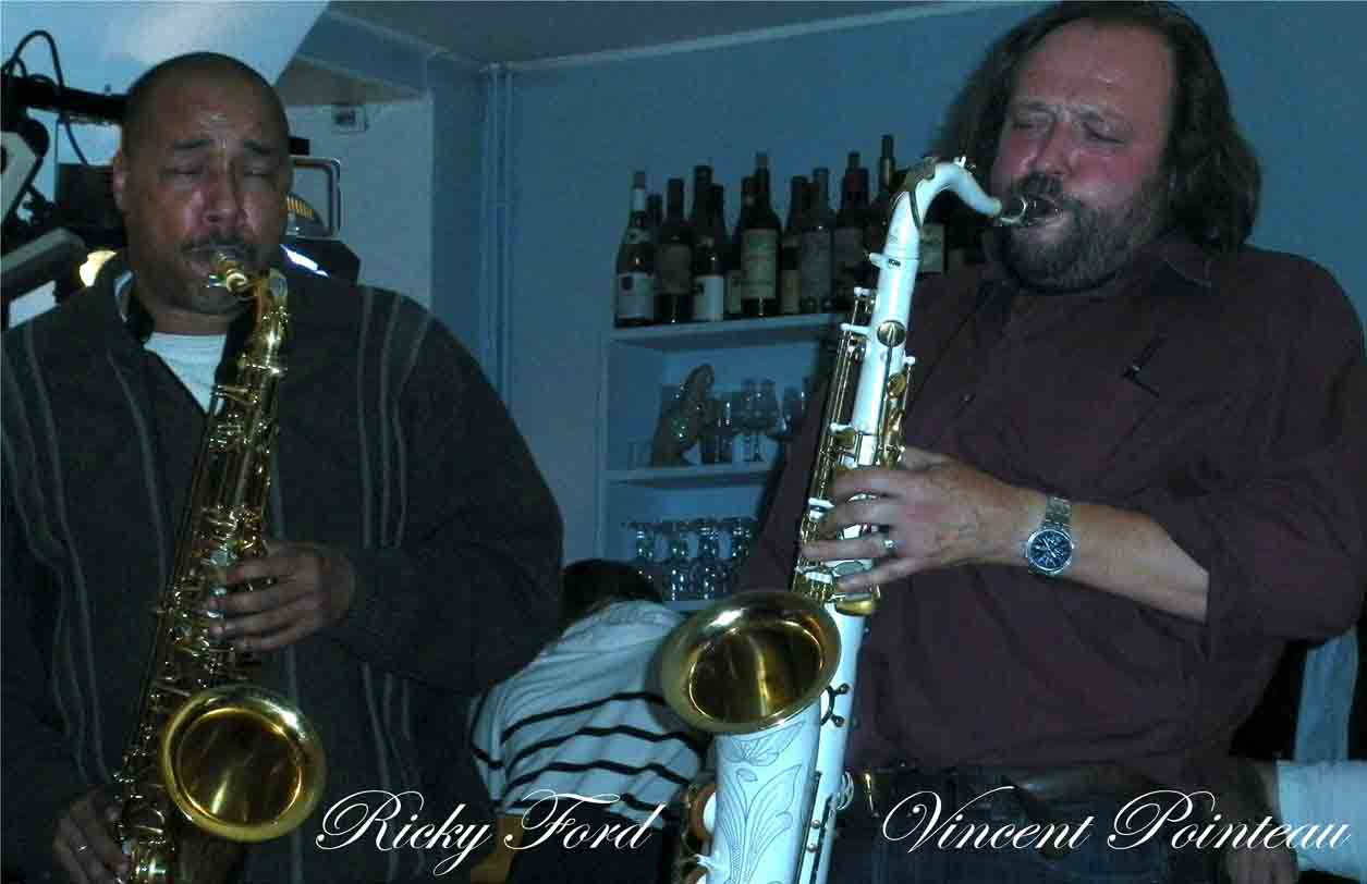 Musiciens Jazz, Vincent Pointeau, Ricky Ford