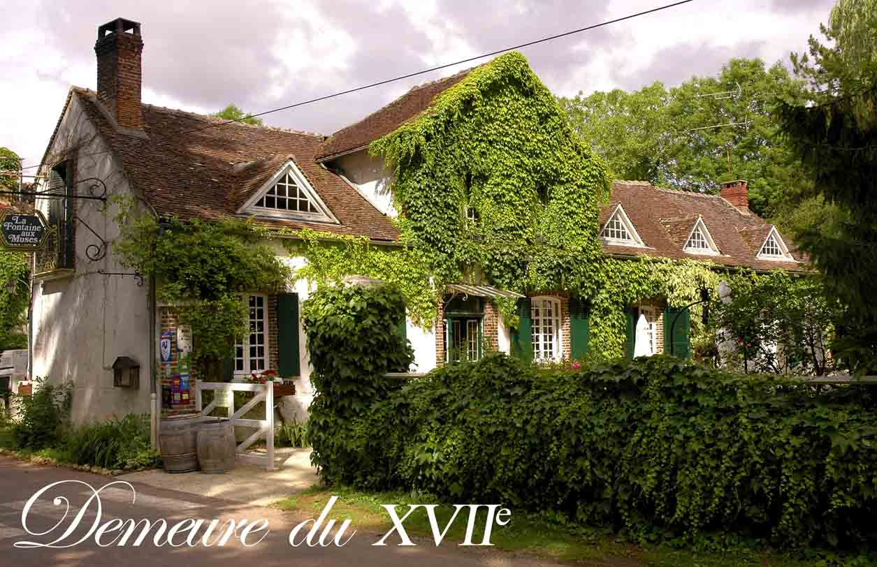 La Fontaine aux Muses - Restaurant (Main Building)