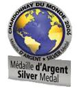 Chardonnay Du Monde Médaille d'Argent 2007